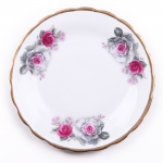 floral side plate 2