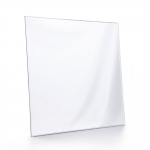 square mirrored plate