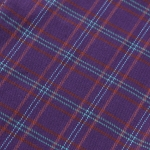 tartan table runner ( purple)