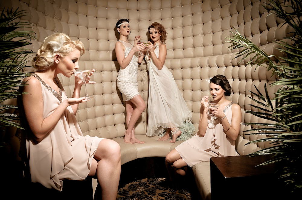 The Great Gatsby bridesmaids