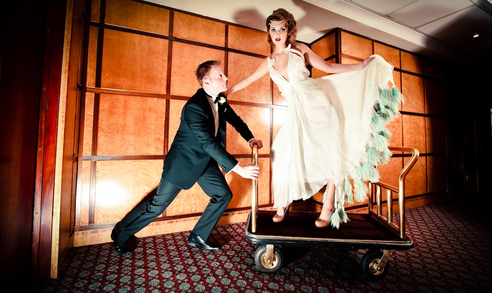 The Great Gatsby wedding Newcastle