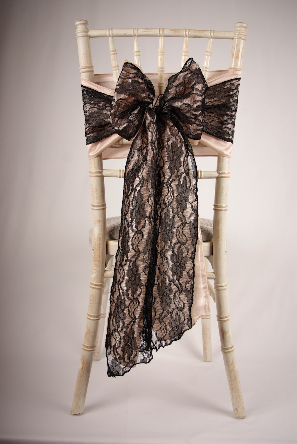 The Great Gatsby black lace bow